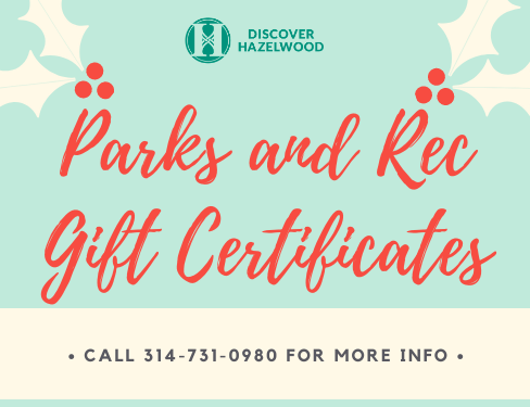 Parks and Rec Gift Certs - Holiday
