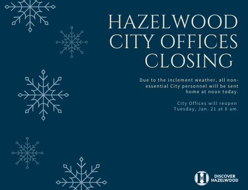City Offices Closing